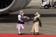 PM Modi Visits Bangladesh As His First Foreign Trip Since Covid-19 Outbreak