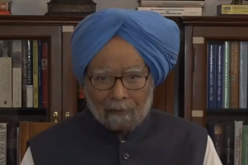 Manmohan Singh Urges People To 'Vote Wisely' In A Video Message Ahead Of Polls In Assam