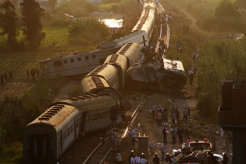 Trains Collide In Southern Egypt, At Least 32 Killed