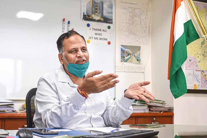 No Possibility Of Lockdown In Delhi, Not A Solution For Covid Spread: Health Minister Satyendar Jain