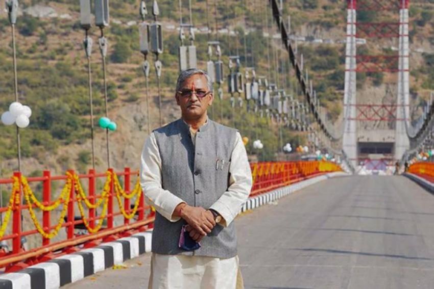 Ex-Uttarakhand CM Trivendra Singh Rawat Compares Himself With Mahabharata's Abhimanyu