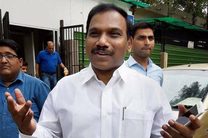 Hate Speech Row: AIADMK Urges EC To Bar DMK Leader A Raja From Campaigning For Assembly Polls
