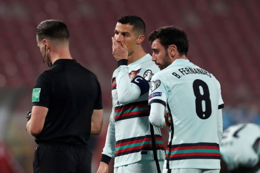 Cristiano Ronaldo Says He'll 'Never Change' After Outburst Following Portugal-Serbia Controversy
