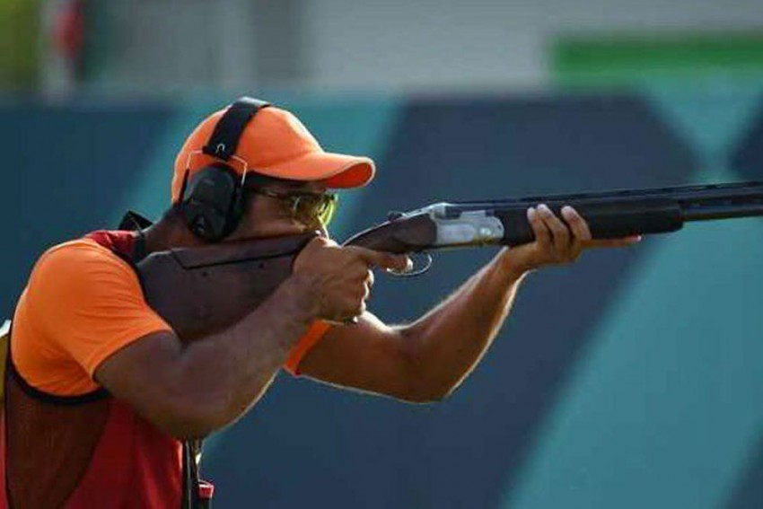 ISSF Shooting World Cup: India Win Gold In Men's Trap, End Campaign On High