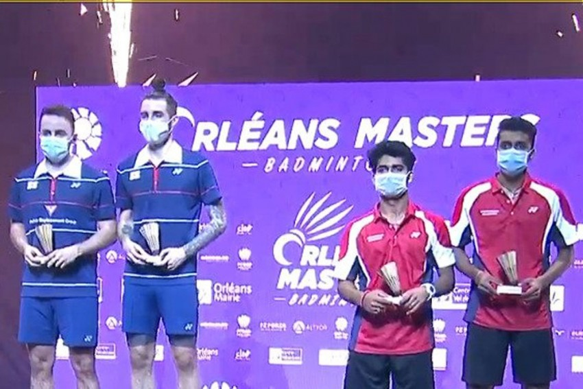 Orleans Masters Badminton: Krishna-Vishnu Pair Goes Down In Men's Doubles Final