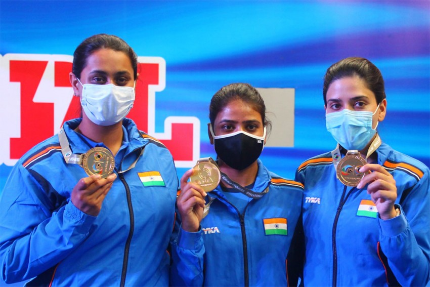 ISSF Shooting World Cup: India End Best-ever Campaign With Two More Gold Medals