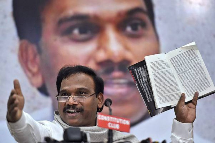 Amid Backlash, DMK MP A Raja Apologises To Tamil Nadu CM For His Comments On Latter's Mother