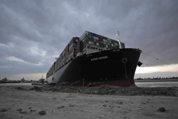 Where Is Amer Village? It's Where The Ship Got Stuck At Suez Canal