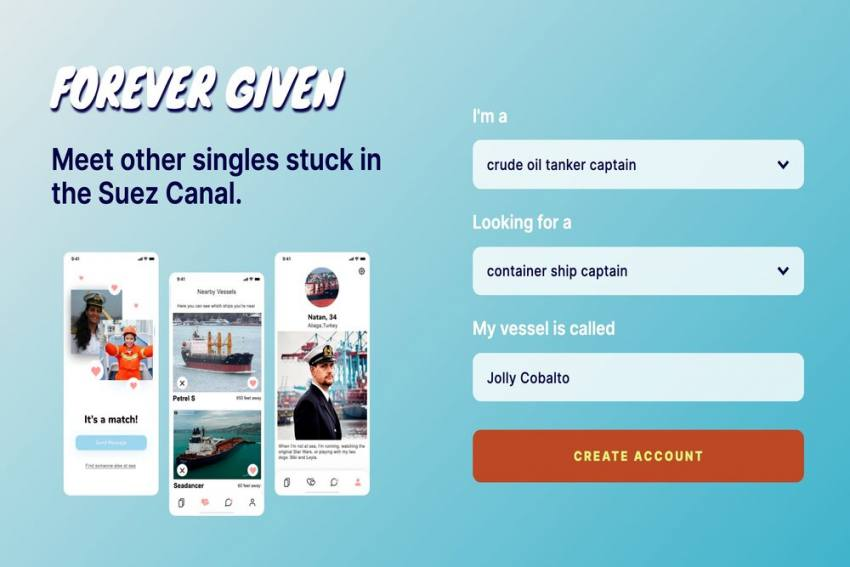 Suez Canal Blockade: Feeling Lonely? Try This Dating App Created Just To Give Company To Stuck Vessels