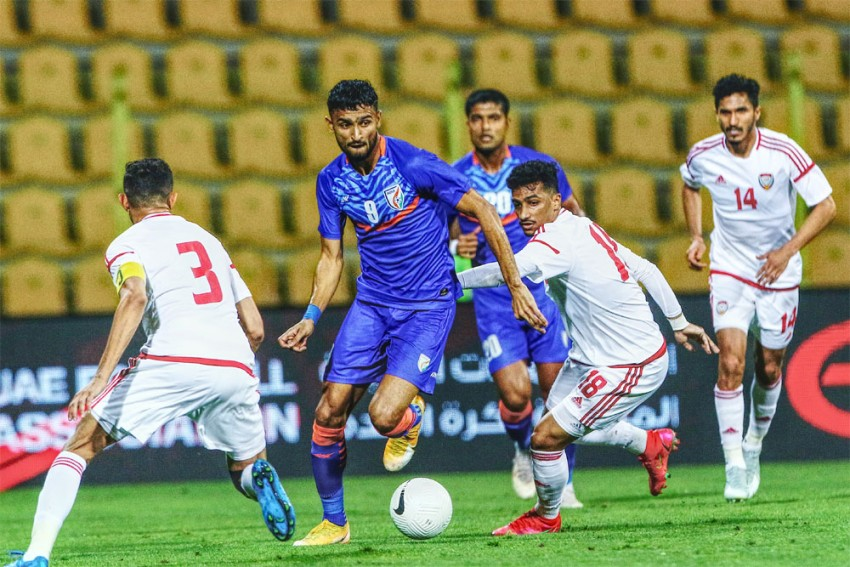 India Suffer 0-6 Rout Against UAE In International Football Friendly