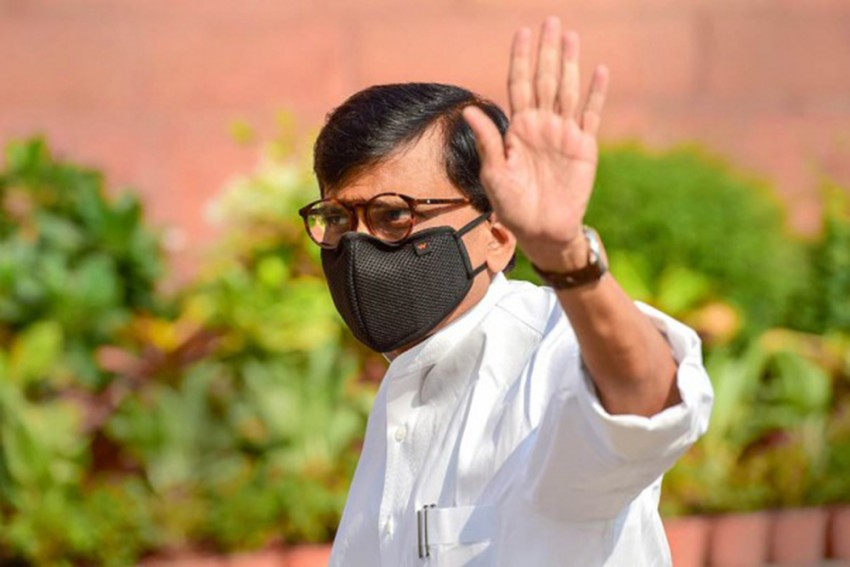 Had Warned Maharashtra Government About Sachin Vaze: Shiv Sena MP Sanjay Raut