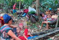Airstrikes In Myanmar, Thousand Flee To Neighbouring Thailand