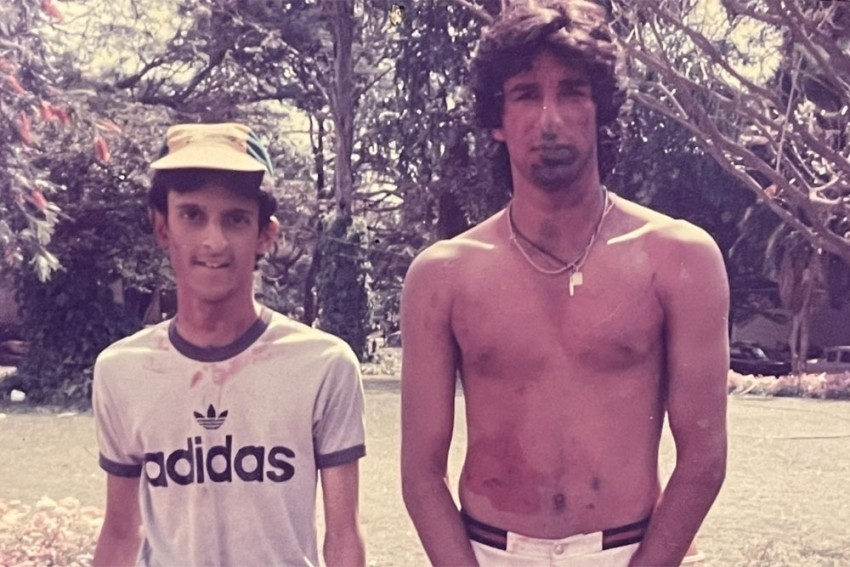 What A Day That Was: Old Picture Of Wasim Akram Celebrating Holi In India Goes Viral