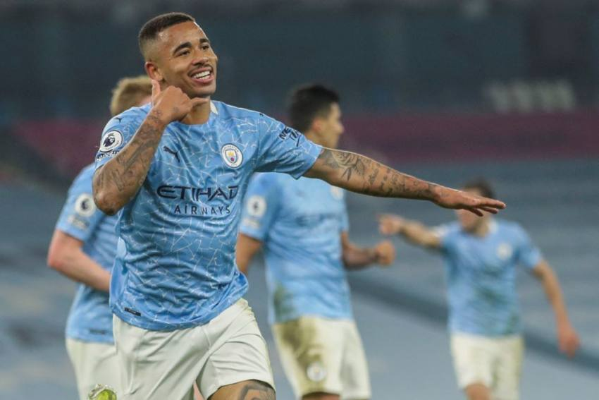 Manchester City 4-1 Wolves: Gabriel Jesus Sends Leaders 15 Clear As City Match 28-game Record Unbeaten Run
