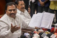DMK Worried About Being Dubbed Anti-Women After Raja's Speech