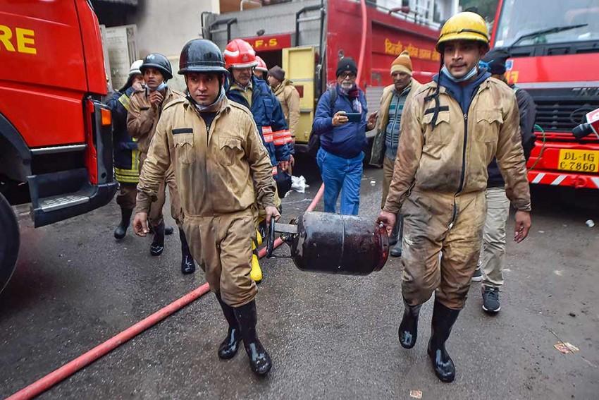 Fire Breaks Out At Garments Factory In Delhi's Gandhinagar