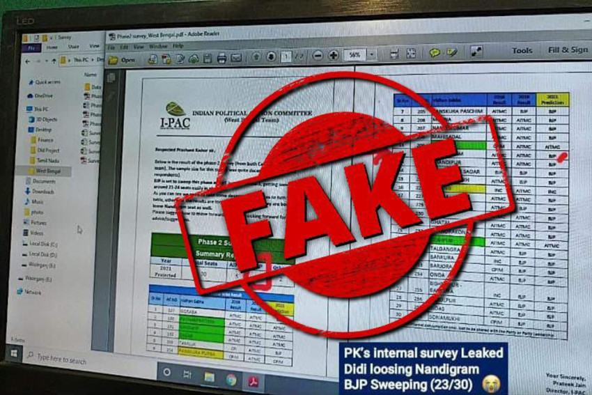 Fake 'Survey Reports' Flood Bengal Ahead Of Phase 2 Polls