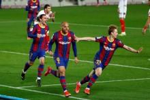 Barcelona 3-0 Sevilla (AET, 3-2 Agg): Blaugrana Storm Back To Reach Copa del Rey Final