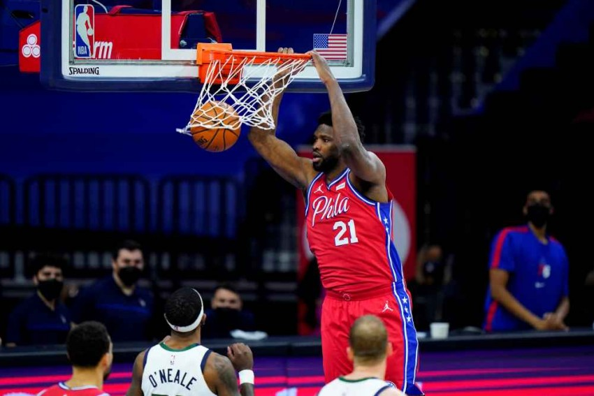 NBA: Embiid Lifts 76ers Over Jazz In Thriller And Harden Enjoys Winning Return To Houston As LeBron-less Lakers Lose