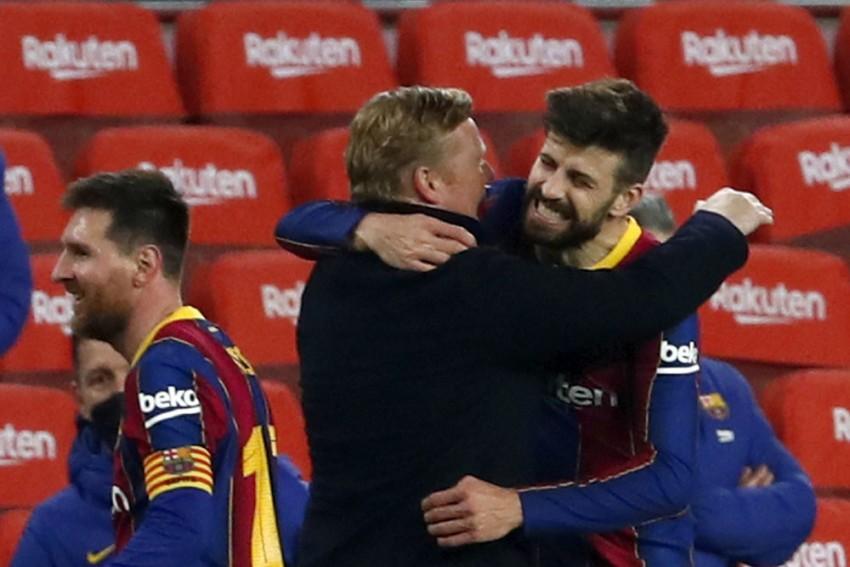 Ronald Koeman Cools PSG Comeback Talk After Barcelone Stun Sevilla En Rute To Copa Del Rey Final