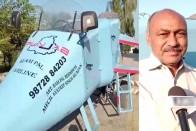 Punjab: Architect Builds Jet-Shaped Vehicle, Calls It 'Punjab Rafale'