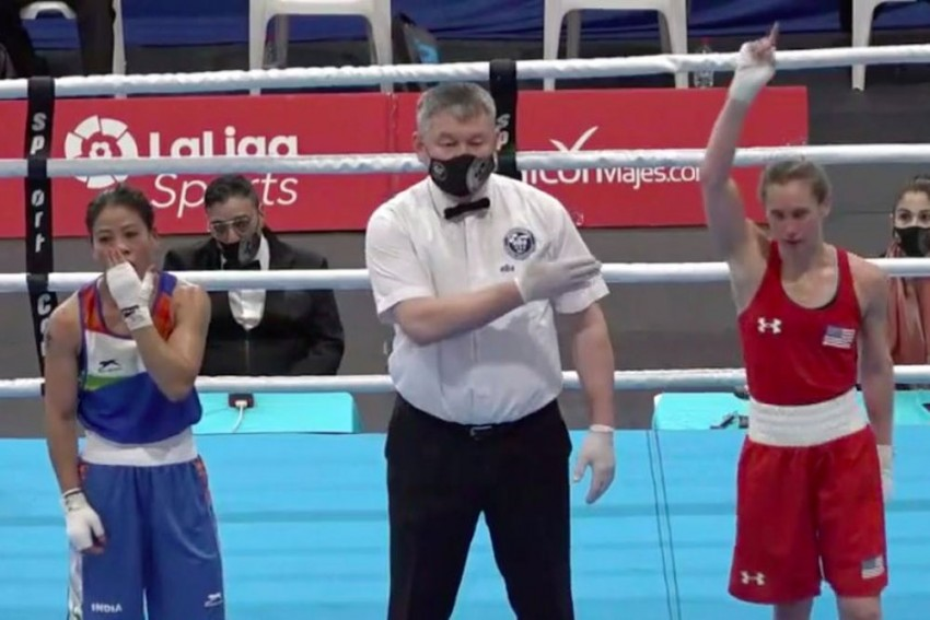 Boxam International: Mary Kom Settles For Bronze After Intense Semifinal Loss
