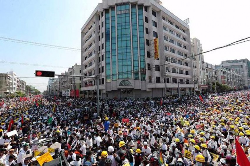 Myanmar Protest: Junta Intensifies Action On Protestors, Expected To Get Worse