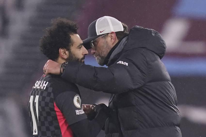 Jurgen Klopp Will Keep Talking To Mohamed Salah But Liverpool Boss Sees No Need For 'Proper Talk'