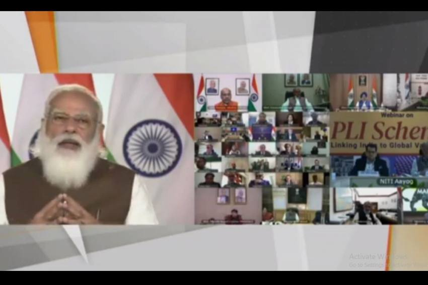 PLI Scheme To Boost India's Manufacturing Output By USD 520 Billion In 5 Years: PM