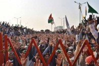 Farmers Block Highway In Haryana To Mark 100 Days Of Farmers' Protest