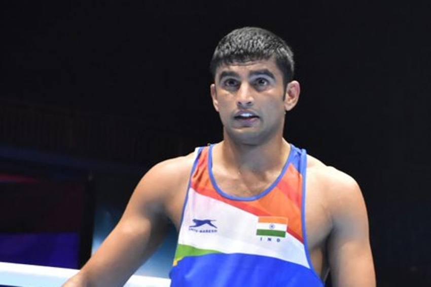 Indian Boxer Manish Kaushik Strikes Gold At Boxam International