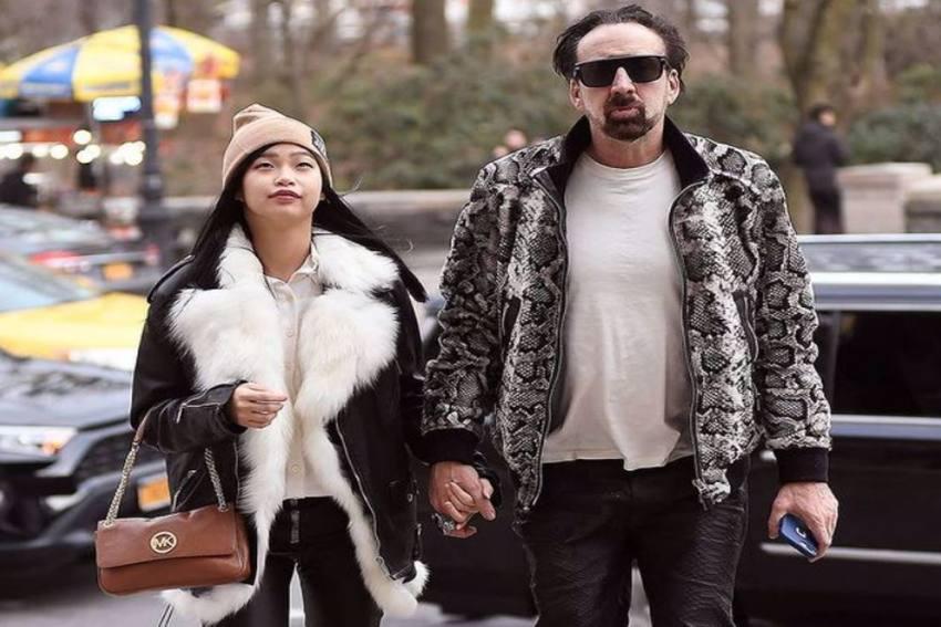 Hollywood Actor Nicolas Cage Ties Knot With Girlfriend Riko Shibata