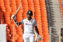 Washington Sundar Misses Maiden Century, Wasim Jaffer Trolls Ishant, Axar And Siraj