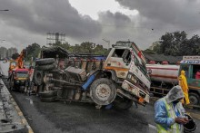 Truck Crashes Into Bus Outside Cairo, Leaving 18 Dead, 5 Hurt: Officials