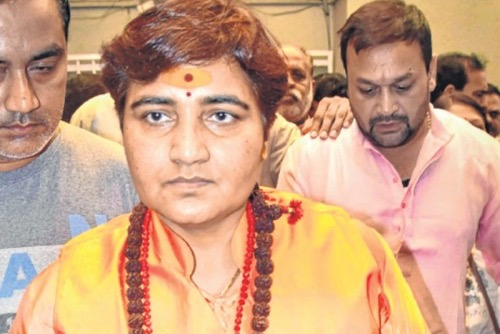 BJP Leader Pragya Thakur Airlifted To Mumbai After She Complained Of Uneasiness
