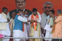 PM Modi's Brigade Rally: 'I'm A cobra,' Says Actor Mithun Chakraborty, Calls For Change In Bengal