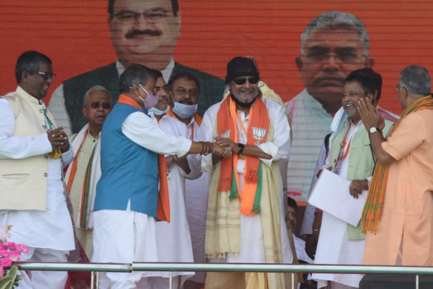 PM Modi's Brigade Rally: 'I'm A Cobra,' Says Actor Mithun Chakraborty, Calls For Change In Bengal