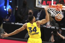 NBA All-Star Game: LeBron James 'In Awe' Of Giannis Antetokounmpo And Steph Curry