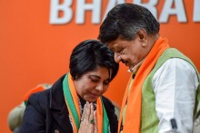 BJP Leader Bharati Ghosh Moves SC Seeking Stay Of Arrest Warrant