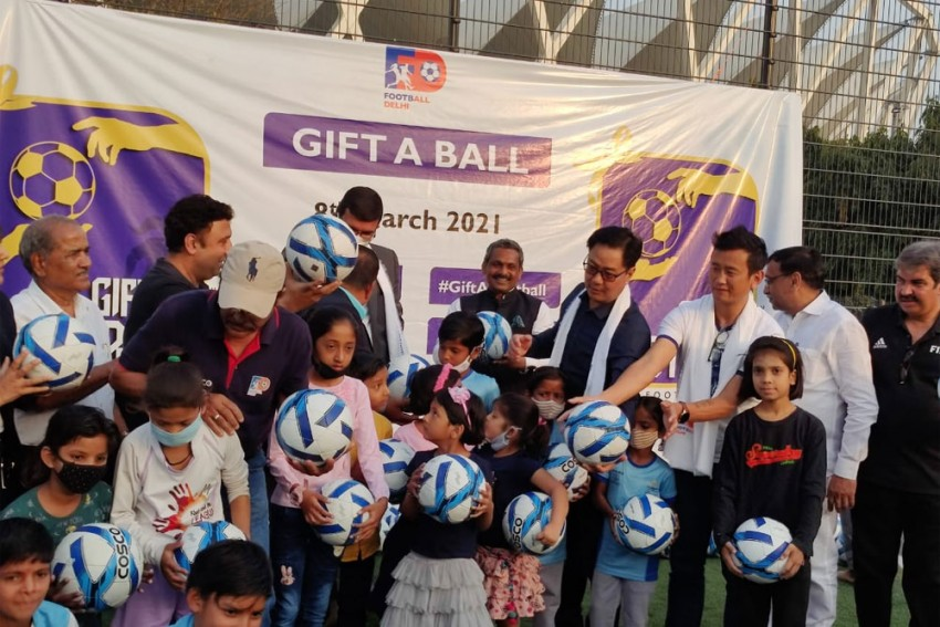 International Women's Day: Football Delhi Launches Campaign To Empower Girls