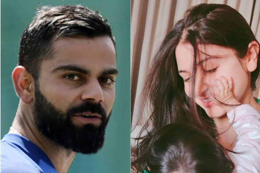 International Women's Day: Virat Kohli Salutes Female Divinity, Shares Adorable Photo Of Wife And Daughter