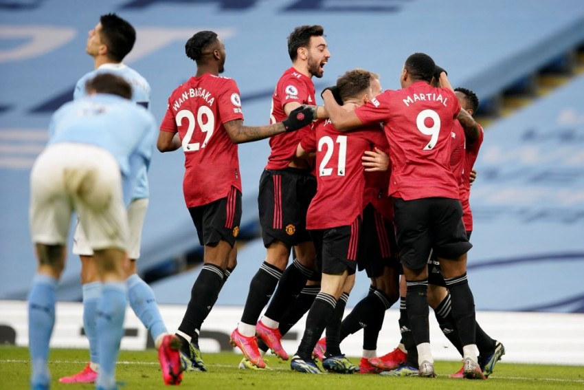 Manchester City 0-2 Manchester United: Red Devils Spike League Leaders' Winning Run At Etihad