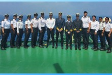 All-Women Crew Of Vessel MT Swarna Krishna Creates History