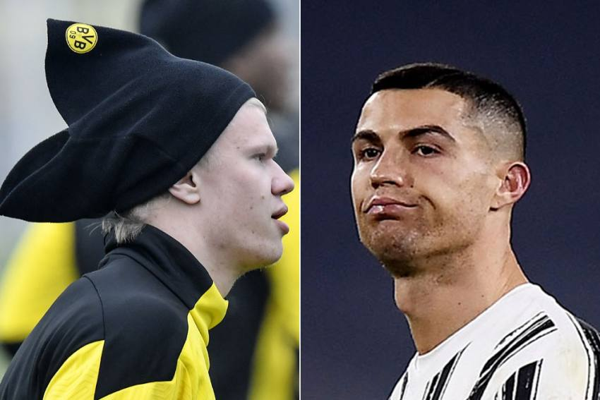 Champions League: Focus On Cristiano Ronaldo And Erling Haaland