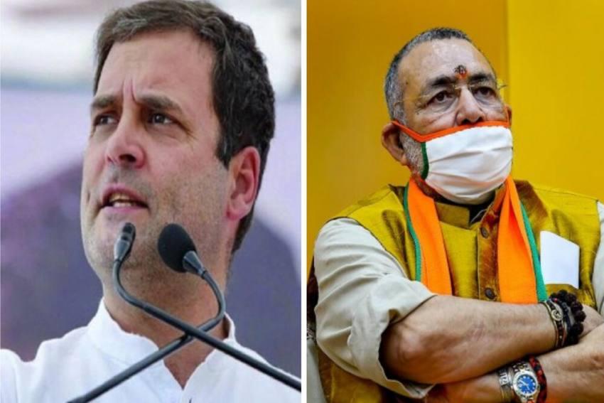 He Should Be Sent Back To School: BJP Leader Giriraj Singh Takes A Dig At Rahul Gandhi
