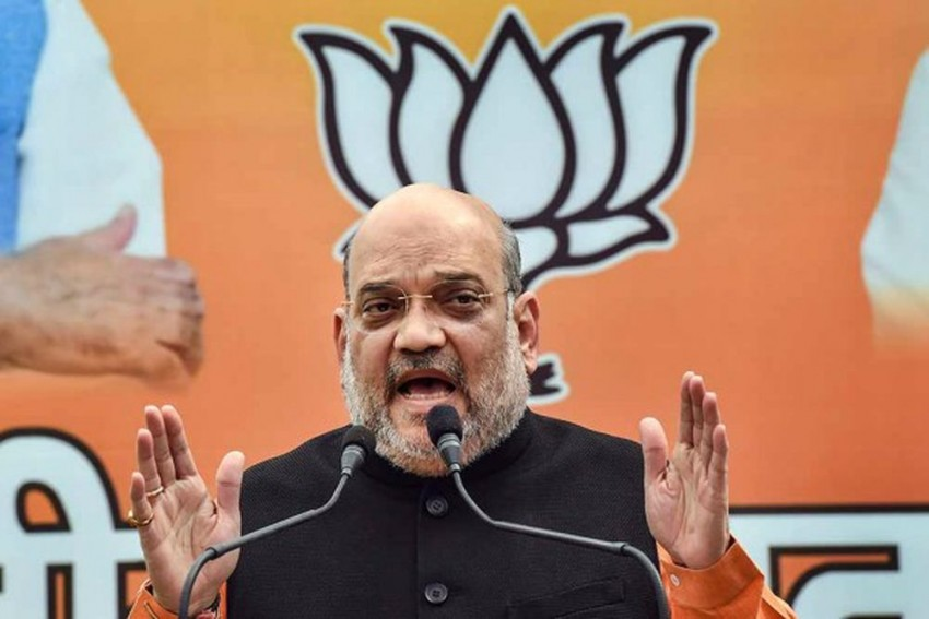 Home Minister Amit Shah Visits Puducherry Ahead Of Elections