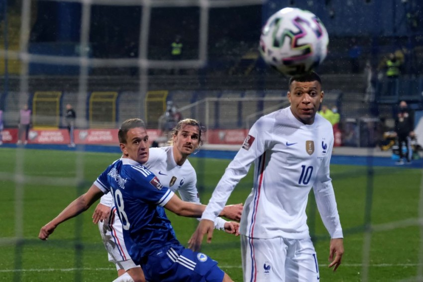 France Beat Bosnia-Herzegovina 1-0 In FIFA World Cup 2022 Qualifiers