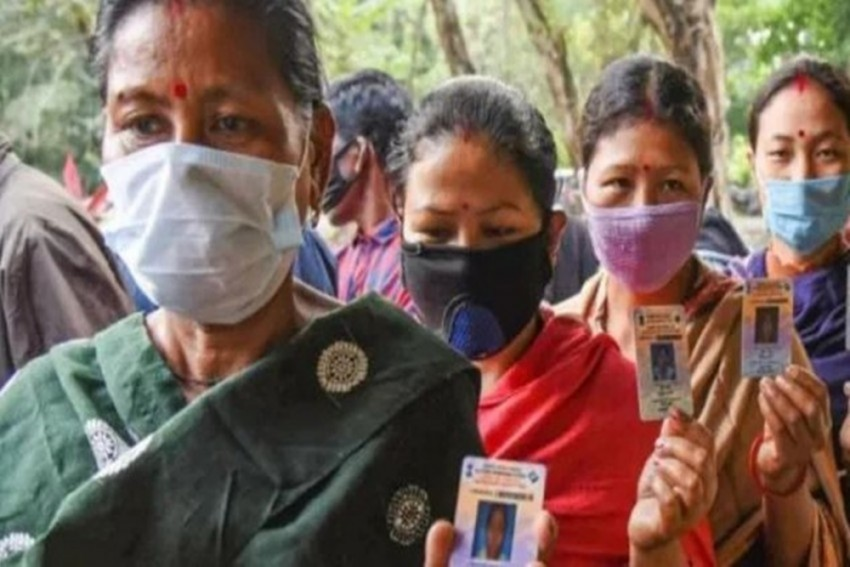 Assam Elections 2021: Women Turn Out In Large Number, Overall Situation Peaceful