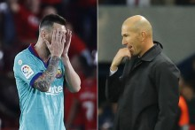 Zinedine Zidane Hopes Lionel Messi Stays With Barcelona
