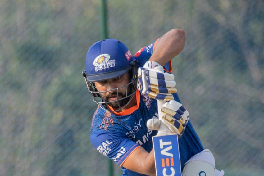 Mumbai Indians Skipper Rohit Sharma Bats For Conservation Of Indian Rhinoceros